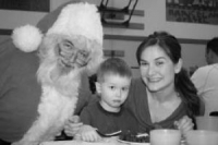 Country Christmas Breakfast with Santa
