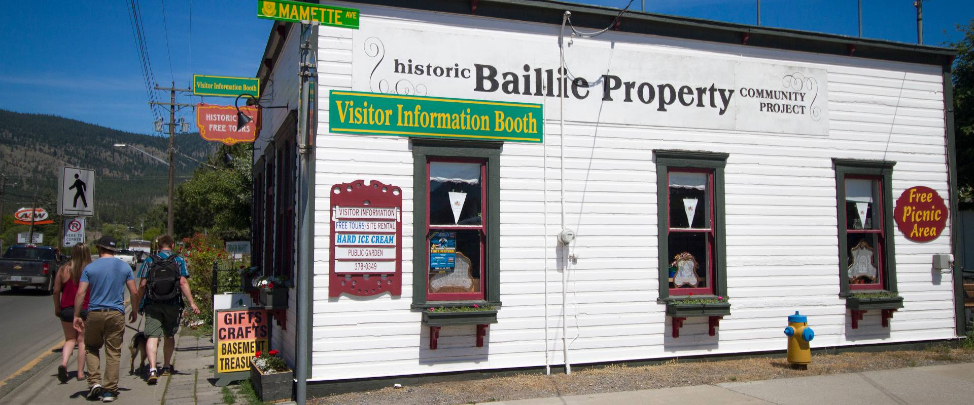 Visit the Baillie House