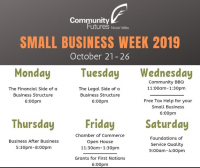 Community Futures Small Business Week: Chamber of Commerce Open House
