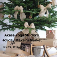 Akasa's Holiday Maker's Market